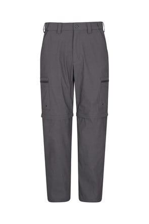 Trek Stretch Mens Zip-Off Trousers - Short Length