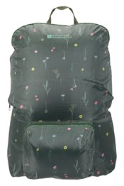 Printed Packaway Backpack