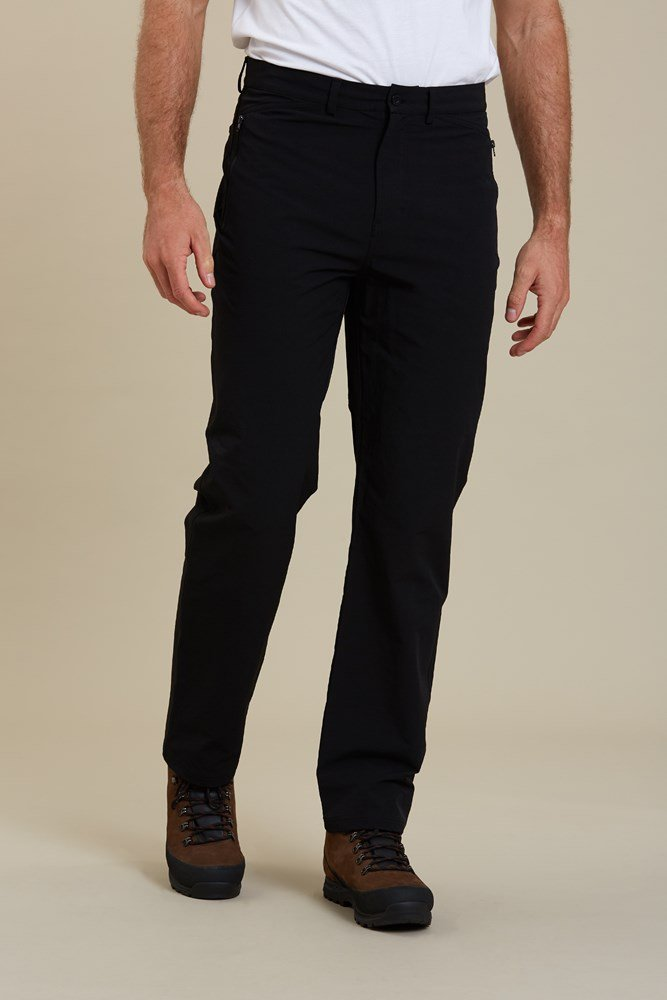 Summer Pants Casual UPF50 Mountain Warehouse Stride Mens Trousers