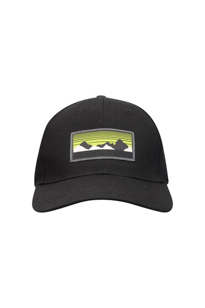3 Peaks Mens Cap - Black
