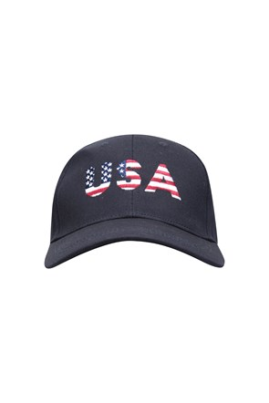 USA Print Mens Baseball Cap