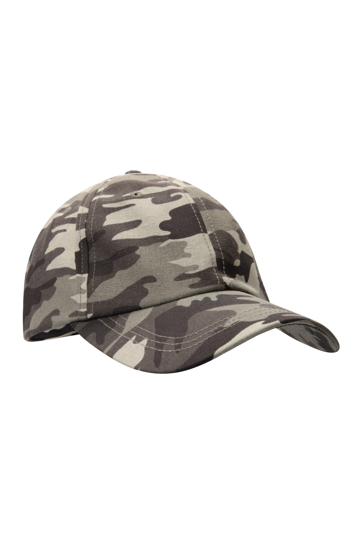Washed Out Mens Baseball Cap - Black