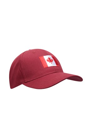 Canada Flag Mens Baseball Cap