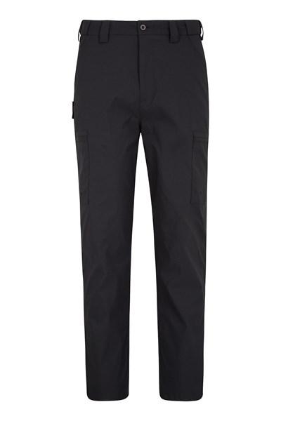 Trek Stretch Mens Trousers - Extra Long - Black