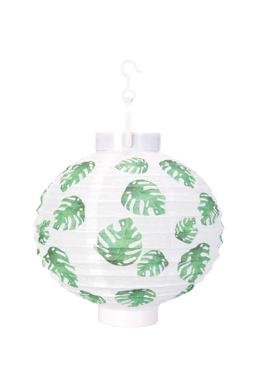 Mountain Warehouse 1 LED Paper Garden Lantern 20 x 20cm White