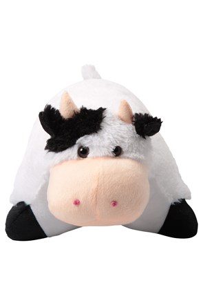 Character Travel Pillow - Cow