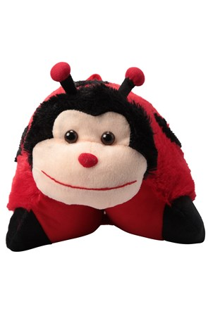 Character Travel Pillow - Ladybird