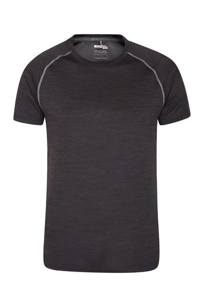 Exalt Reflect Mens T-Shirt - Black
