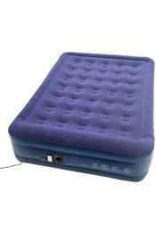 Double-Raised Airbed with In-Built Pump