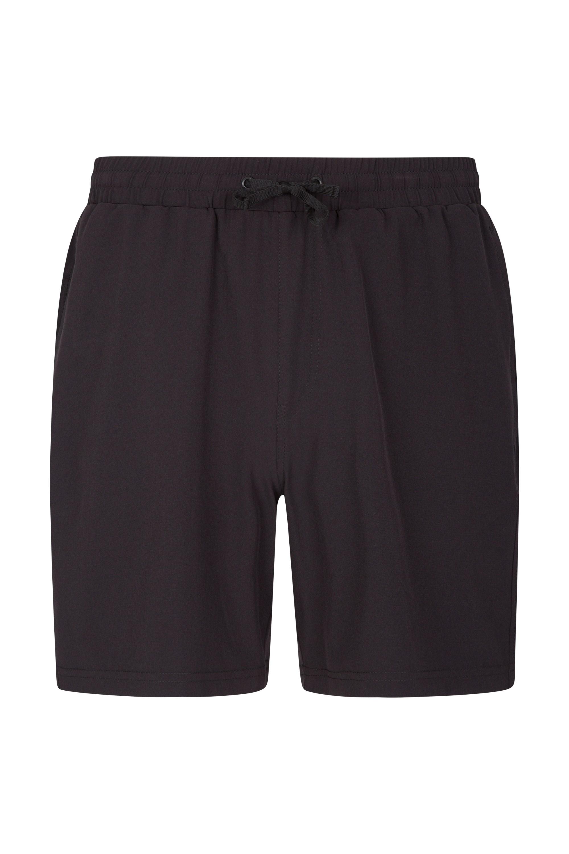 Five Hurdle Mens Running Shorts - Black