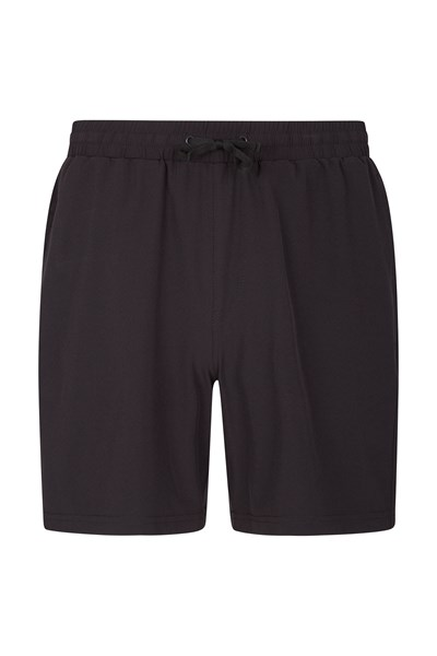 Five Hurdle Mens Running Shorts - Black