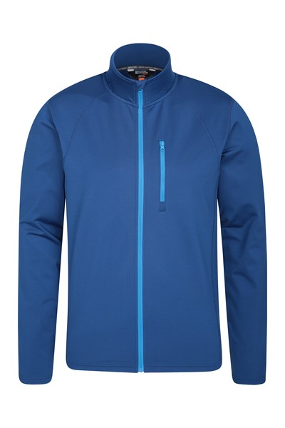 Breeze Mens Full-Zip Midlayer - Navy
