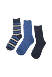 Lightweight Outdoor Mens Walking Socks - 3 Pack