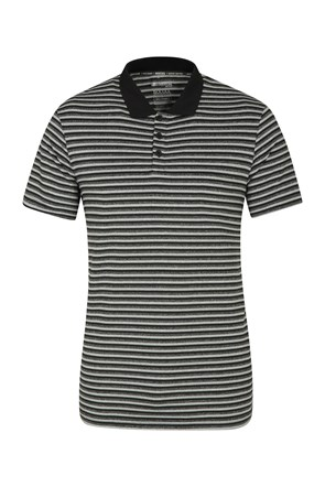 Bounce Stripe II Mens IsoCool Polo