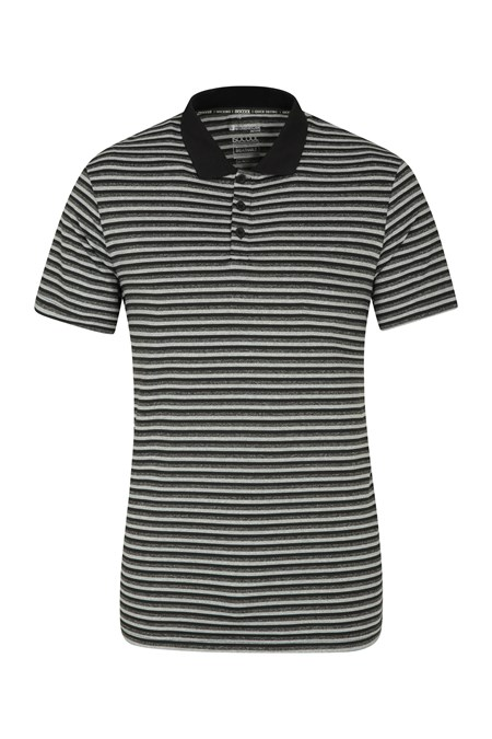 030437 BOUNCE STRIPE II ISOCOOL POLO