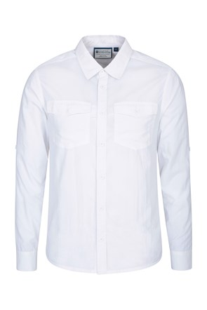 Navigator Anti-Mosquito Mens Convertible Shirt