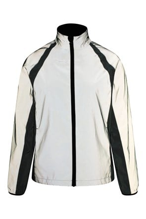 Shine 360° Reflective Womens Waterproof Jacket