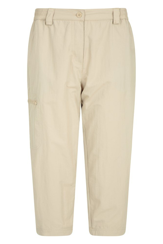 Navigator Anti-Mosquito - spodnie damskie capri - Beige