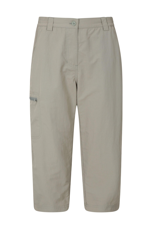 Navigator Anti-Mosquito - spodnie damskie capri - Green