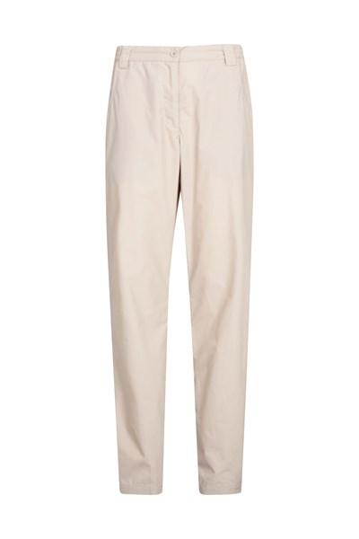 Quest Womens Trousers - Short Length - Beige
