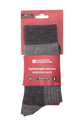 Lightweight Merino Mens Socks