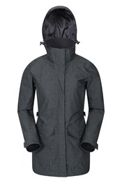 Shore Textured Womens Waterproof Jacket
