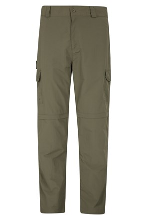 Explore Mens Zip-Off Pants - Short