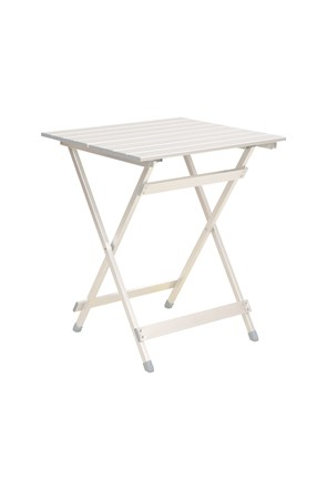 Slatted Lightweight Aluminium Folding Table