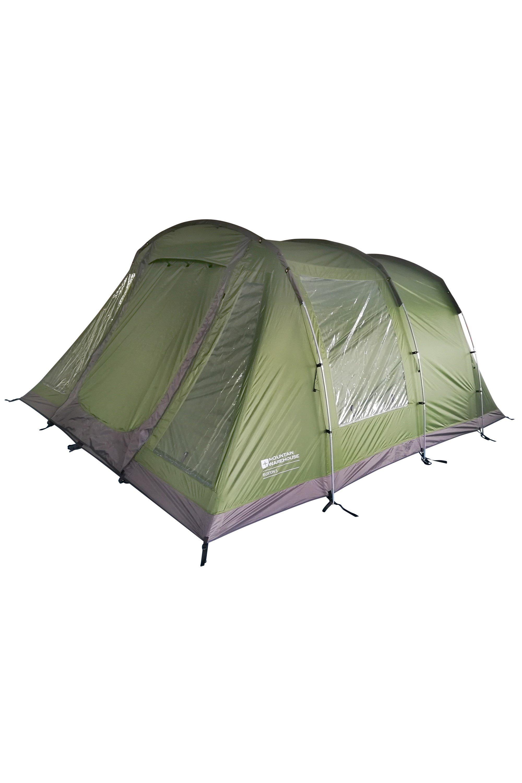 Buxton 5 Man Tent - Green