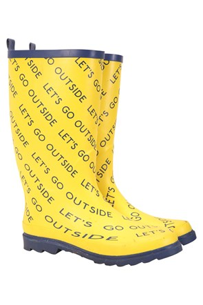Kit Neale Festival Mens Rubber Wellies