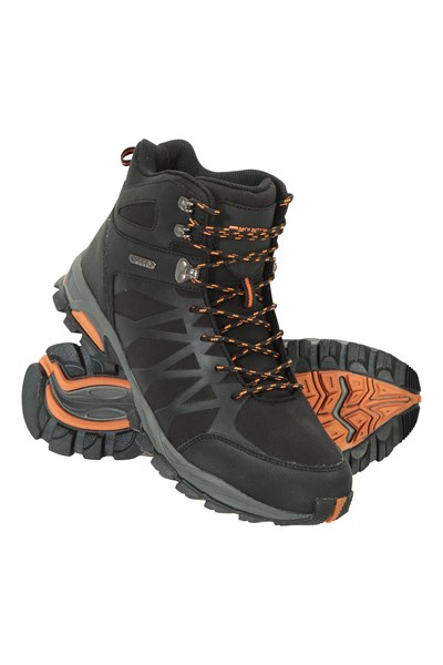 Trekker II Waterproof Mens Softshell Boots - Black