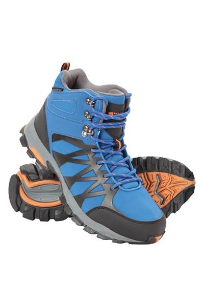 Trekker II Waterproof Mens Softshell Boots - Blue