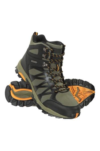 Trekker II Waterproof Mens Softshell Boots - Green