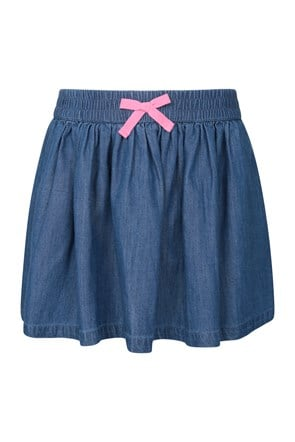 Chambray Kids Skirt