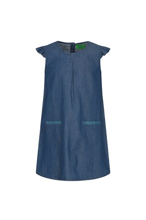 Chambray Kids Dress