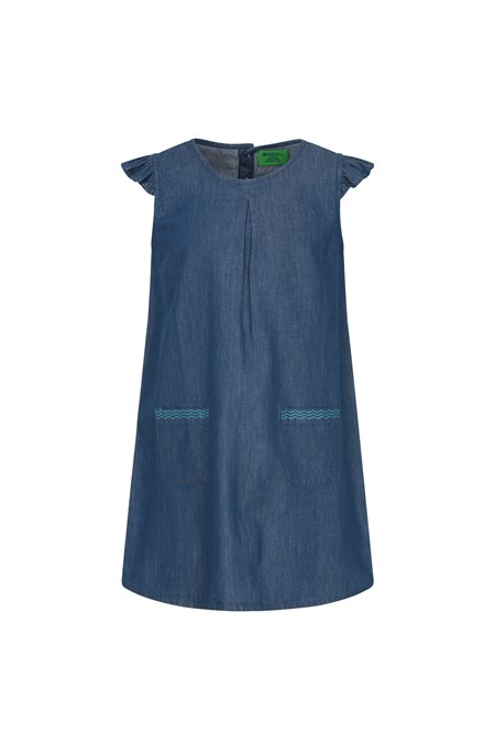 030924 CHAMBRAY KIDS DRESS