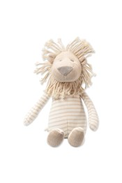 Neon Sheep Medium Knitted Lion Toy