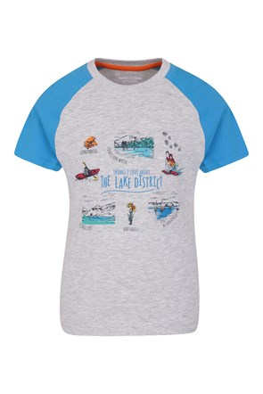 Camiseta Lake District Niños