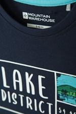 Mountain Warehouse Lake District Kinder-T-Shirt Reisen leichtes Sommershirt