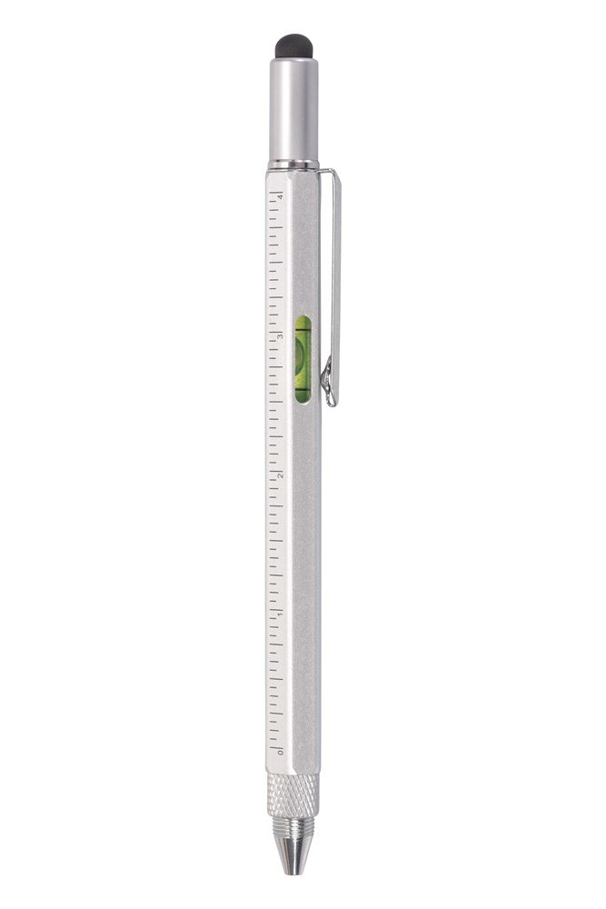 Image of Stylo multi-outil - Silver