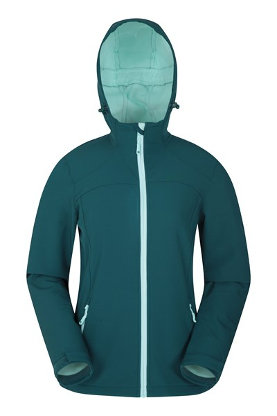 Egress Womens Softshell - Green