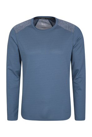 Aspect Panel Long Sleeve Mens Top