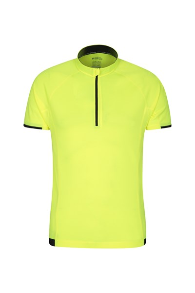 Cycle Short Sleeve Mens Tee - Yellow