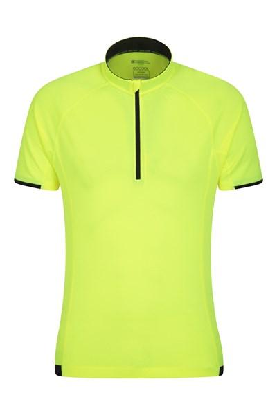 Cycle Short Sleeve Mens Tee - Yellow