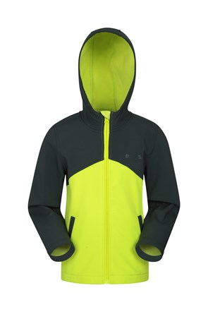Exodus Two-Tone Kids Water-resistant Softshell