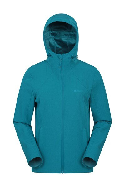 Saramo Womens Softshell - Teal