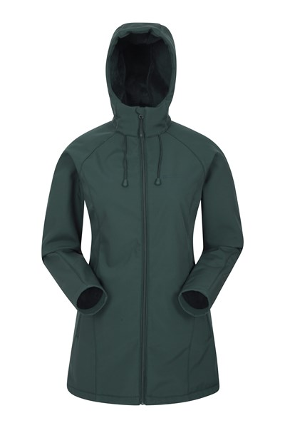 Frost Womens Longline Softshell - Green