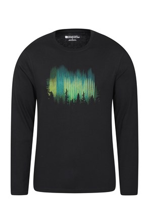 Northern Lights II Long Sleeved Mens Top