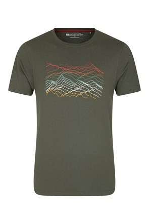 Mountain Richter Scale Mens Tee