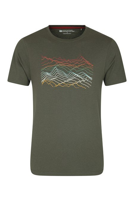 031096 MOUNTAIN RICHTER SCALE SS TEE